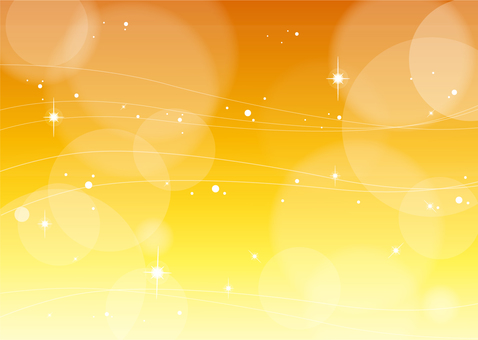 Glittering background orange