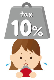 Consumption tax increase tax 10%