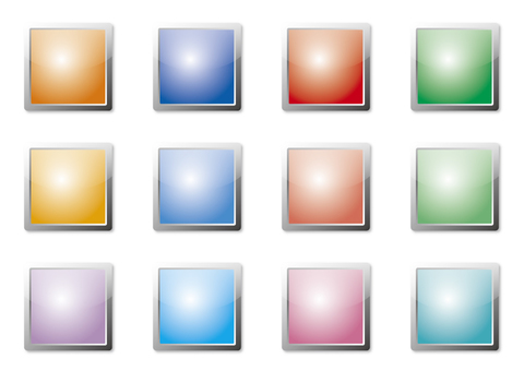 Colorful buttons (squares) 1