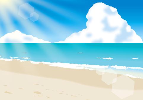 바다와 하늘