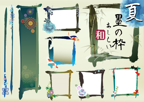 Japanese style decorations Summer 5