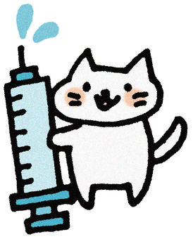Injected cat