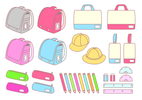 Elementary school equipment set _ 2