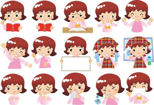 Women's elementary school students summary