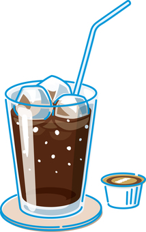Summer image Ice coffee