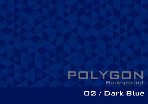 Polygon _ 02 _ Dark Blue _ol
