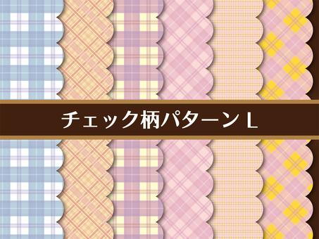 Check pattern card L