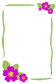 Postcard flower 2