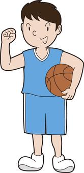 Guts Poses Basketball 1