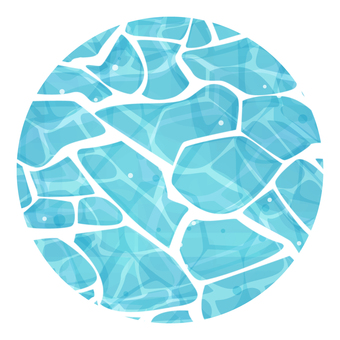 Water surface illustration 02