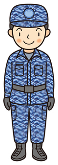 Maritime Self-Defense Officer (camouflage)