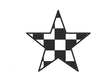 Check pattern star