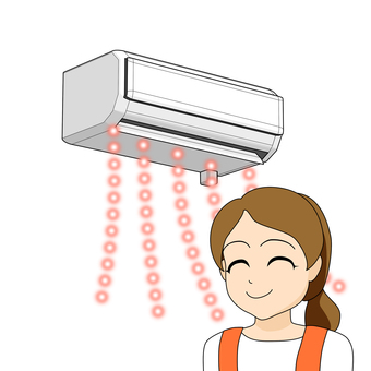 After replacing the air conditioner · reliable housewife · heating