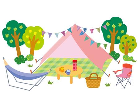 Camp background