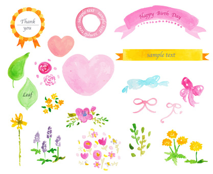 Spring Material flower frame
