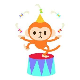 Juggling monkey dagger