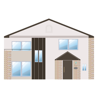 A detached house illustration 15