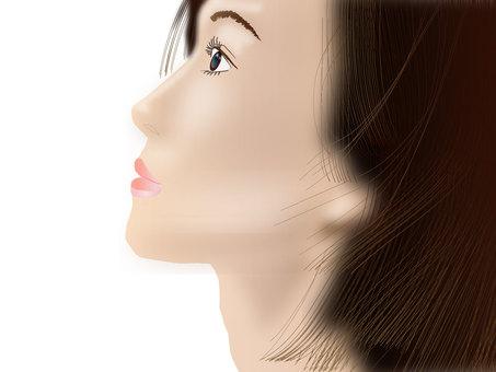 Women's profile profile series 07