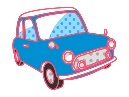 Car _ Retro Pop _ Blue