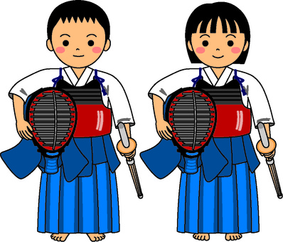 Kendo kids stand up 1