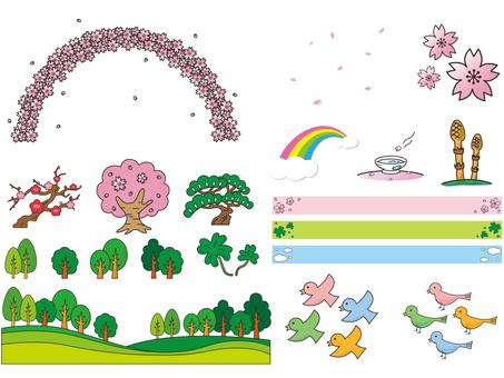 春天的插图集1