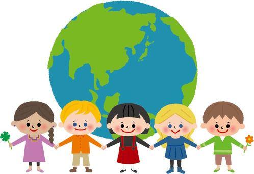 世界の子供達(私服)