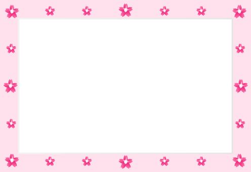 Cherry blossom · pearl frame