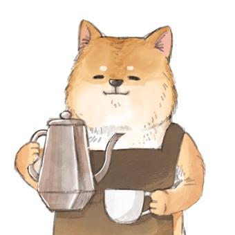 Barista doggy