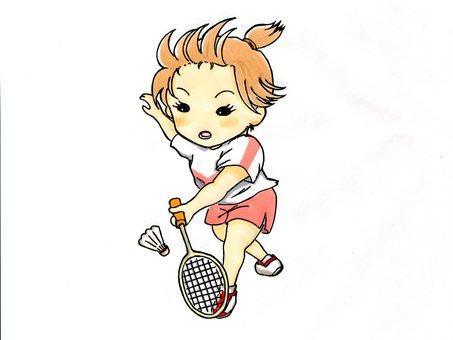 Club Activity Series 4 (Female Badminton)