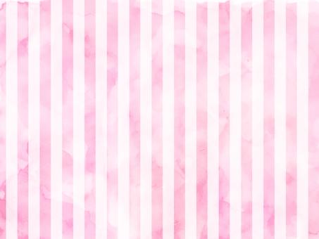 Watercolor stripe pink