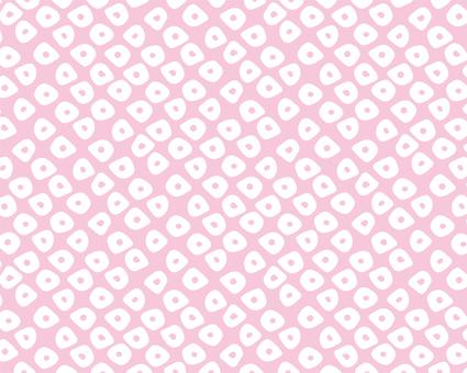 Japanese Pattern Kanoko B <Pink>