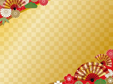 Japanese style background (Fri) 02