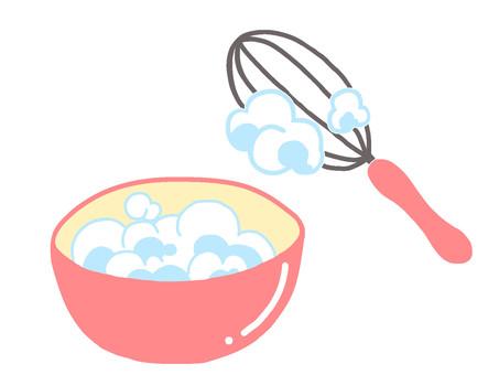 攪打奶油鞭打