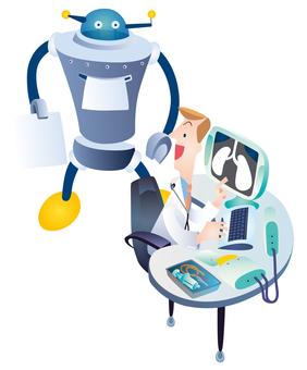 Future hospital robot