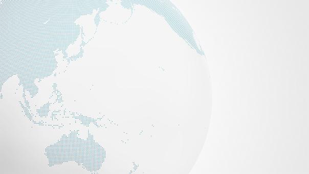 Earth dot map asia 2 wht