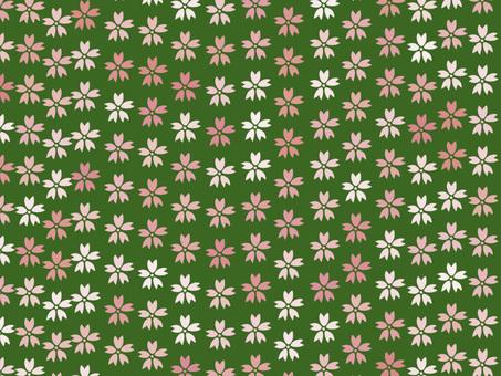 Chiyogami Sakura 1 (Green)