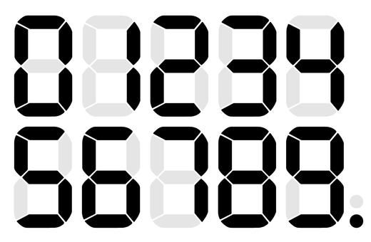 Digital number