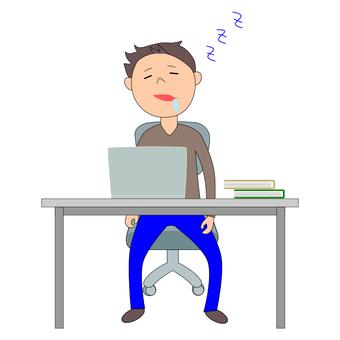 Drowsy desk