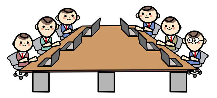 Simple employee - meeting room