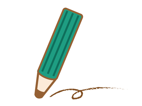 녹색 연필