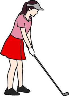 Women who play golf