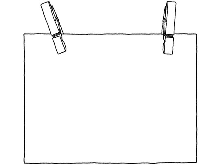 Notepad (pinch) monochrome