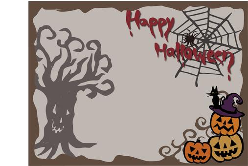 Halloweenフレーム