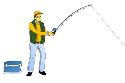 Male fishing part 2