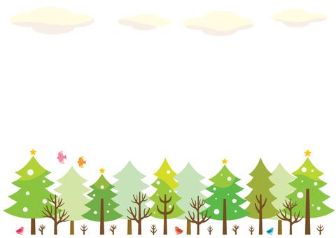 Winter forest illustration (2)