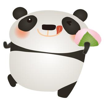 熊貓櫻桃年糕