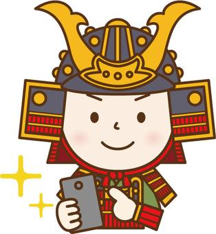 Armor Warrior of smartphone operation D
