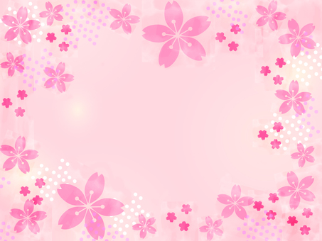 벚꽃 배경