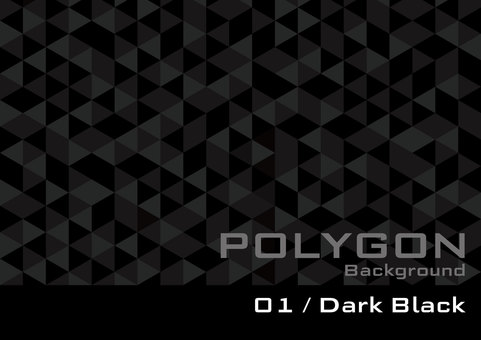 Polygon _ 01 _ Dark Black _ol