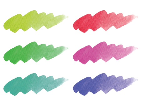 Water color material set